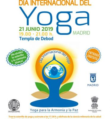 Día Internacional del Yoga en Madrid