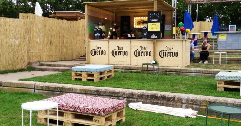 Creación de espacios para eventos y celebraciones