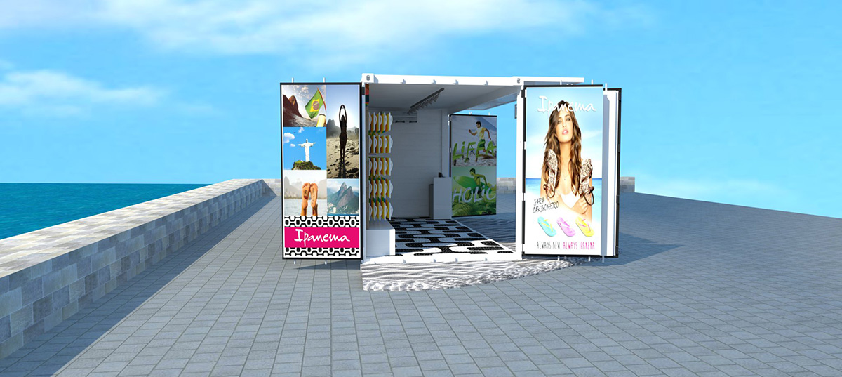 Pop up stores con contenedores