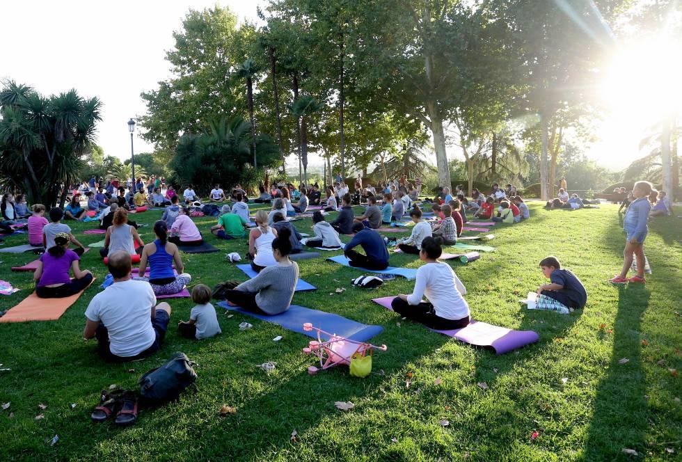 Día Internacional del Yoga Madrid
