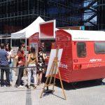 Contenedores personalizados y food trucks para eventos políticos