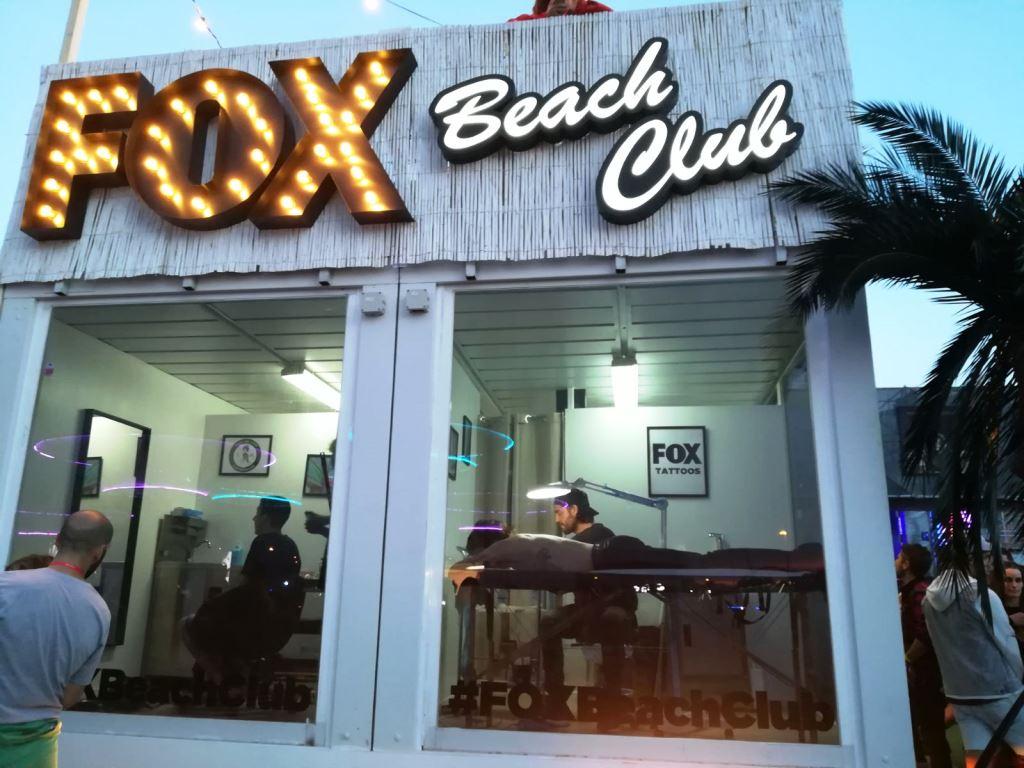 FOX BEACH CLUB PARA EL FESTIVAL MAD COOL 2017