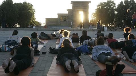 Yoga Día Internacional Madrid